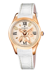 Perrelet NEW DIAMOND FLOWER ROSE GOLD WHITE A3032/1