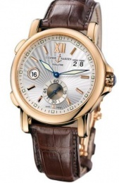 Ulysse Nardin CLASSIC DUAL TIME ROSE GOLD 42MM 246-5531