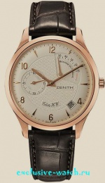 Zenith ELITE HANDWOUND POWER RESERVE ROSE GOLD