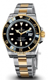 Rolex SUBMARINER STEEL AND YELLOW GOLD CERAMIC 116613LN