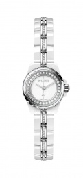 Chanel Lacquer Dial Ladies Two Tone Diamonds Watch H5238