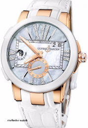Ulysse Nardin Executive Dual Time Lady 246-10-3/391