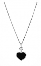 Happy Hearts White Gold Necklace 797482-1201