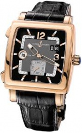 Ulysse Nardin QUADRATO DUAL TIME ROSE GOLD 246-92/692