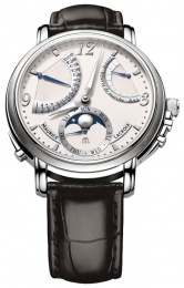 Maurice Lacroix MASTERPIECE LUNE RETROGRADE 43.5mm MP7078-SS001-120