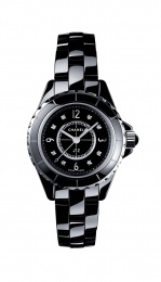 Chanel Quartz Black Ladies Watch H2569
