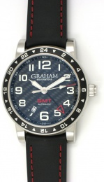 Graham SILVERSTONE TIME ZONE 42mm 2TZAS.B02A