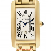 Cartier AUTOMATIC LARGE SIZE TANK AMERICAINE YELLOW GOLD W26031K2