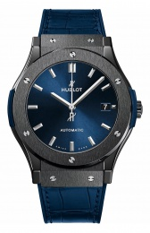 Hublot Classic Fusion 38 mm Ceramic Blue 565.CM.7170.LR