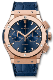 Hublot King Gold Blue 541.OX.7180.LR