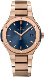 Hublot King Gold Blue Bracelet 585.OX.7180.OX