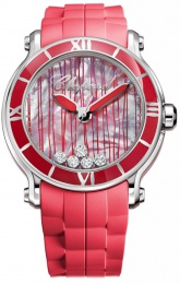 Chopard Happy Sport Round XL 5 Diamonds Limited Edition500 288524-3002