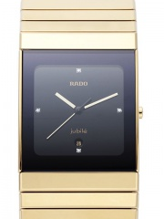 Rado Ceramica XL Jubile Mens Gold Watch R21892742