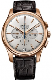 Zenith Captain 18kt Rose Gold Chronograph 18.2110.400/01.c498