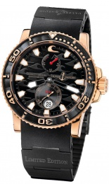 Ulysse Nardin DIVER BLACK SURF LIMITED EDITION 43MM ROSE GOLD 266-37LE-3B