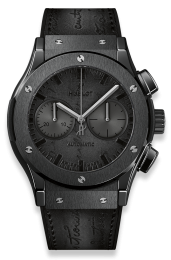 Hublot CHRONOGRAPH BERLUTI SCRITTO ALL BLACK 521.CM.0500.VR.BER17