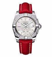 Breitling AUTO RED+DIAMONDS BEZEL 36 A3733053|A717|251X|A16D.1