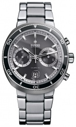 Rado D-Star 200 Chronograph Grey Dial Stainless Steel R15965103